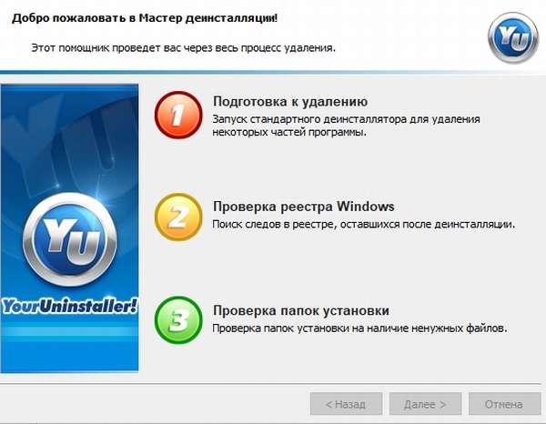 Подготовка к удалению браузера