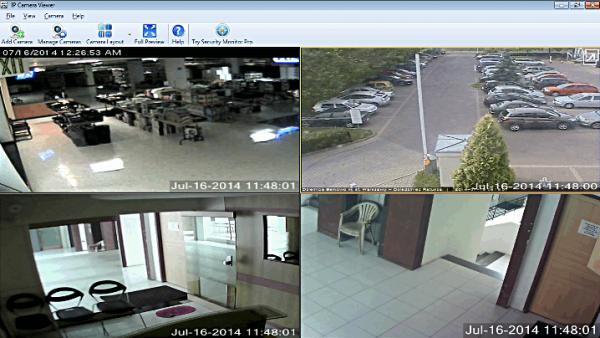 Программа IP Camera Viewer