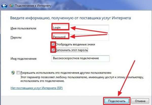 Консоль ввода информации в Windows 7