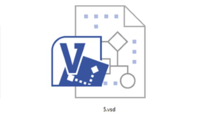 Иконка файла в формате .VSD