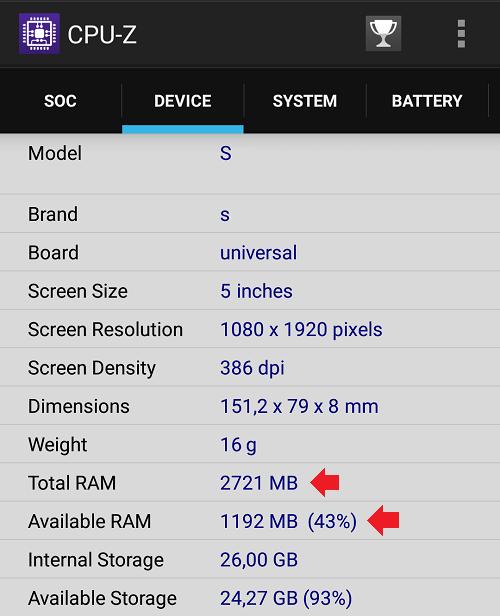 Что такое ОЗУ (RAM) в телефоне?