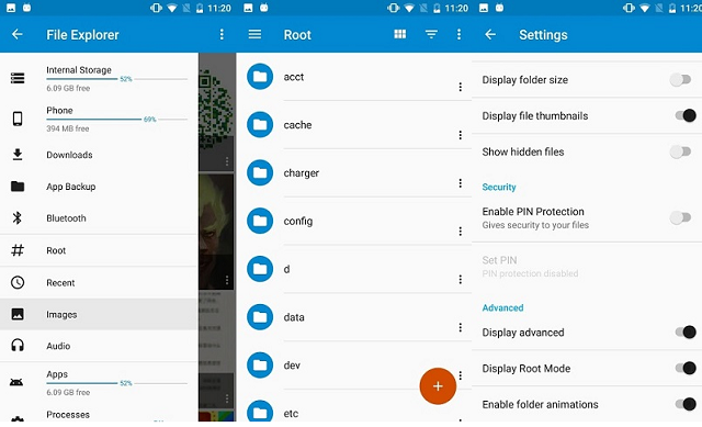 Einst File Manager