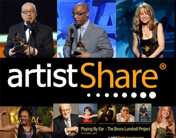 ArtistShare - площадка для музыкантов