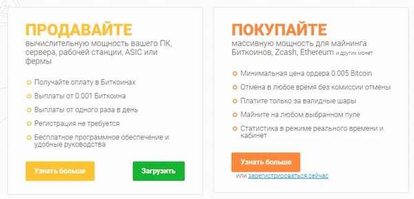 NiceHash.com выгодный облачный майнинг. Обзор сервиса