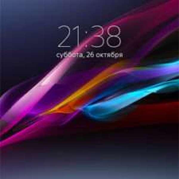 скриншот на Sony Xperia