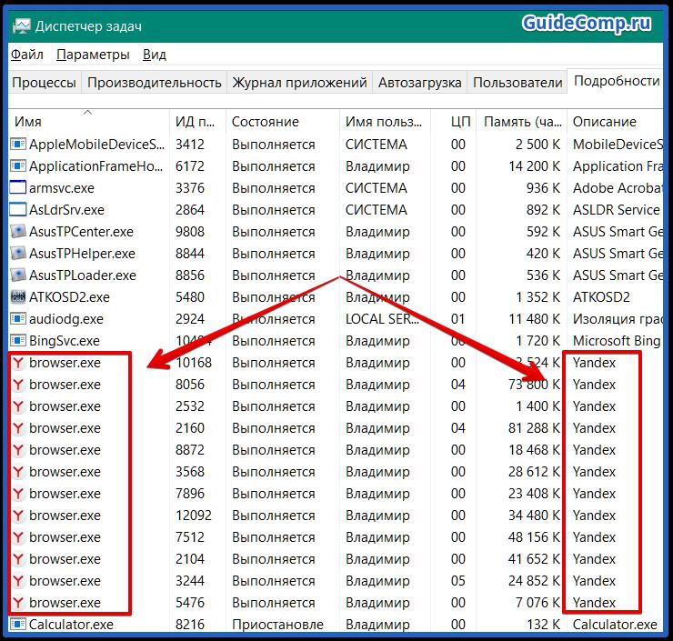 яндекс браузер сильно грузит процессор