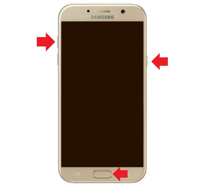 Как зайти в меню рекавери на Samsung Galaxy?
