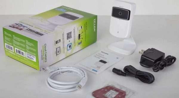 Комплектация облачной камеры TP-Link NC-250