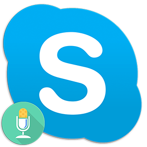 Logo Skype Microphone