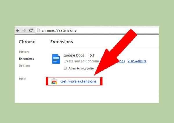 Настройка расширений Google Chrome