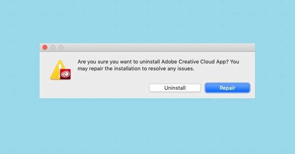 Как удалить Adobe Creative Cloud с Макос