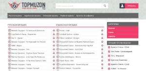 Сайты для скачивания музыки - topmuzon