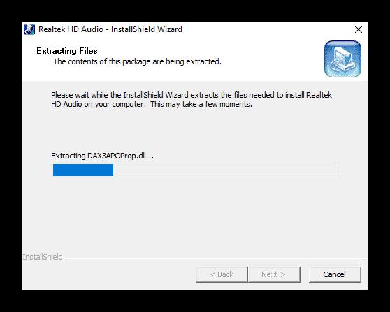 Установка драйверов звука на Windows