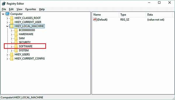 Очистка данных реестра
