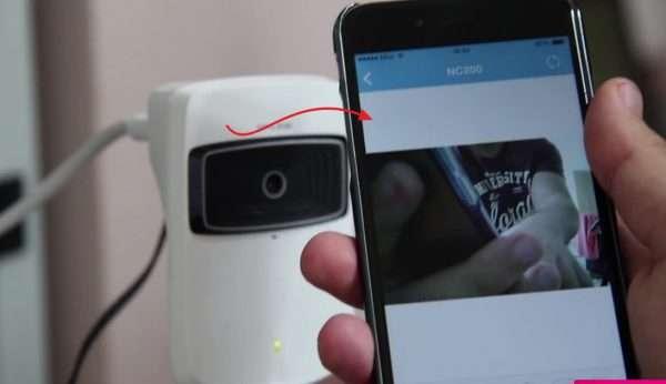 Просмотр видеоизображения при помощи смартфона