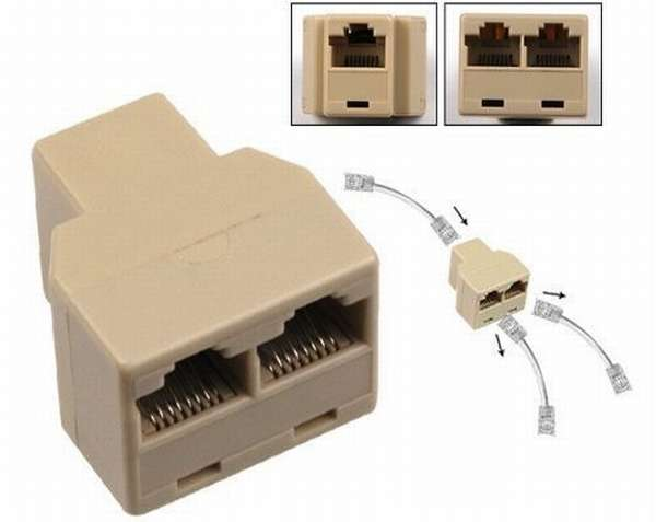 Сплиттер LAN — простейшее решение для сгоревших портов LAN