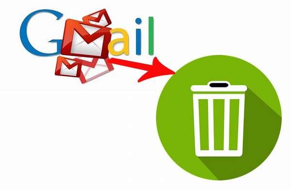 Удалить письма gmail