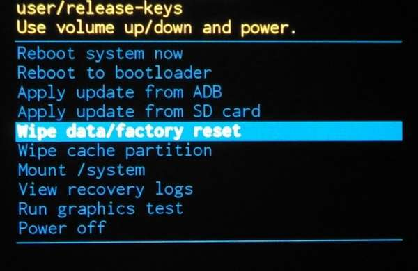 Как сбросить Андроид к заводским настройкам (Хард Ресет)?