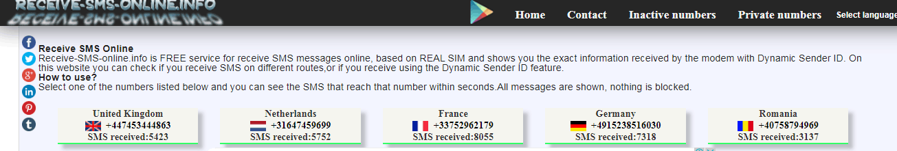 Виртуальный номер для регистрации вк