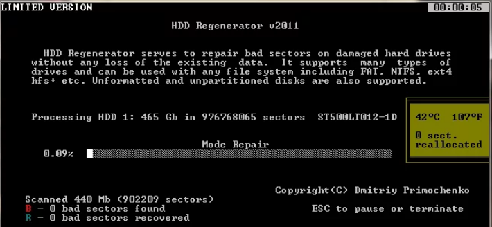 Как пользоваться программой HDD Regenerator + установка на флешку и настройка запуска из под Dos