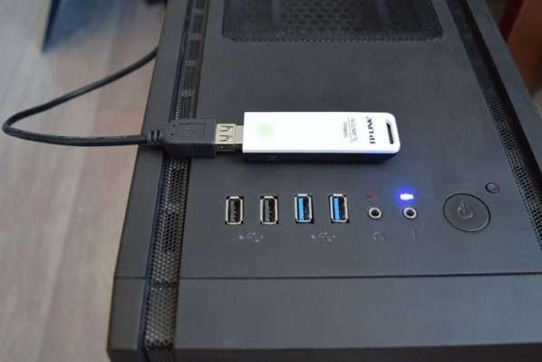 Подключение адаптера TP-Link TL-WN821N