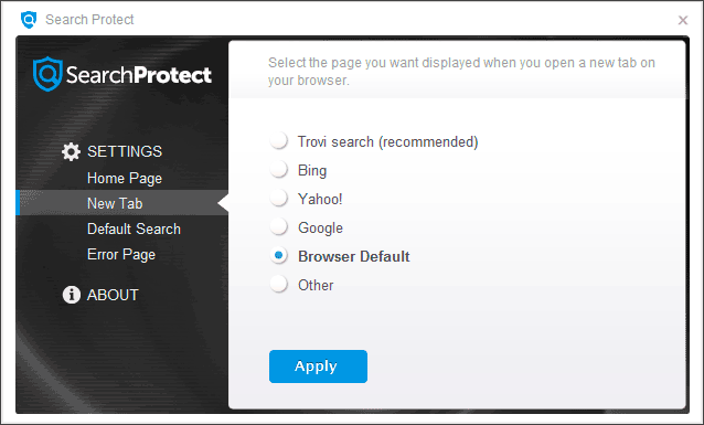 conduit-search-protect-settings