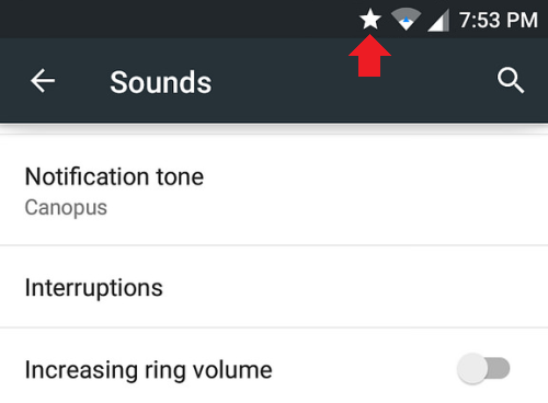 Что значит звездочка на экране телефона Андроид и как ее убрать?