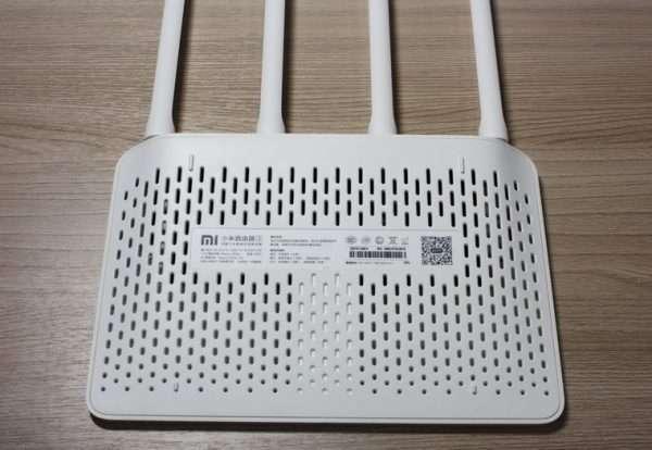 Вентиляционная сторона Xiaomi Router 3