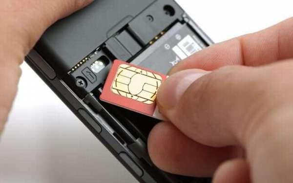 Проверка правильности установки SIM-карт