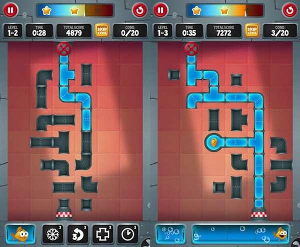 Логическая игра на андроид смартфоны сантехник