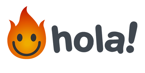 Логотип Hola