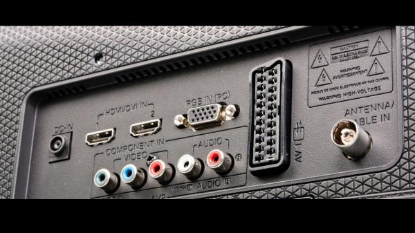 Гнёзда HDMI1 и HDMI2