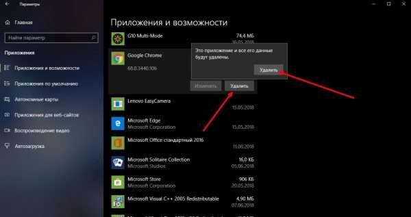 Как удалить приложение Google Chrome
