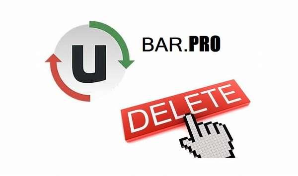 Как удалить uBar