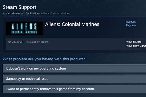 Удаление игры из Steam аккаунта