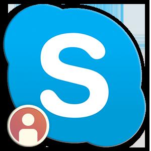 Logo Skype Contact