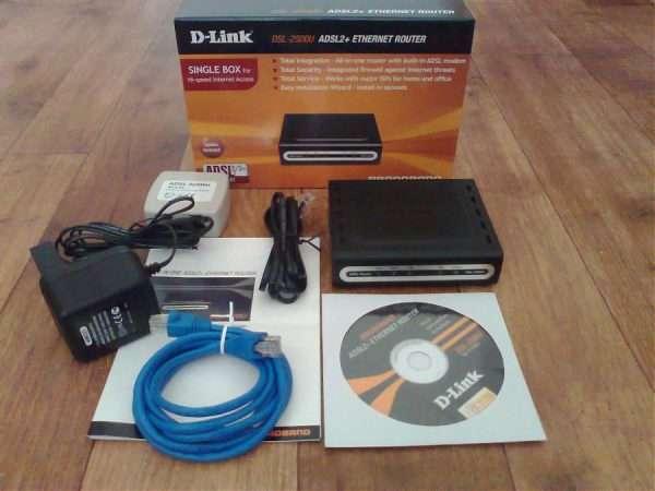 Комплектация D-Link 2500U