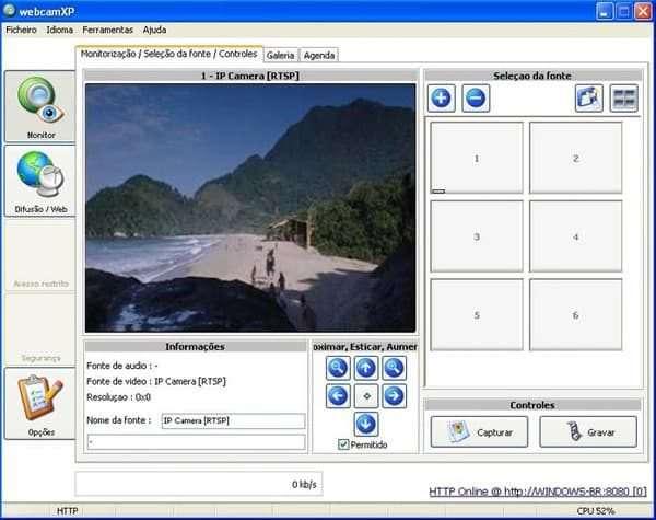 Программа WebCamXP