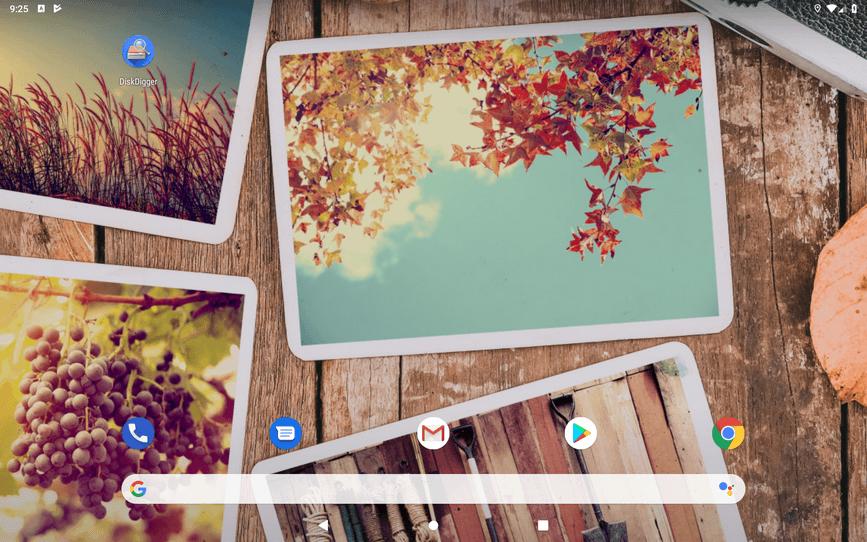 Восстановление удалённых фотографий на Android