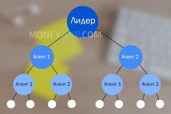 Схема бинарного плана