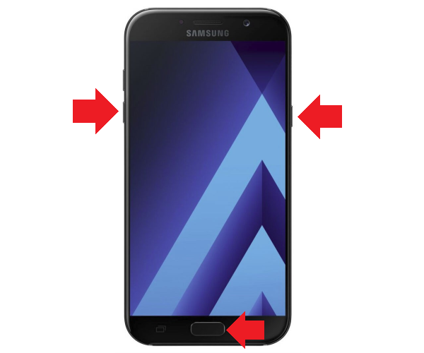 Как перезагрузить смартфон Самсунг, если он завис?