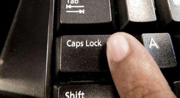 Клавиша Caps Losk