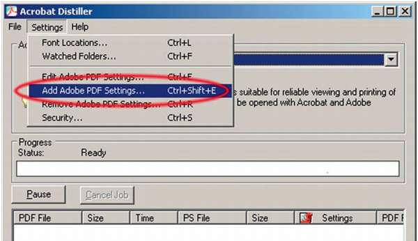 Как в Indesign сохранить в PDF под печать