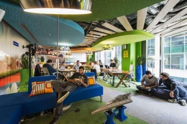 Офис мечты Google