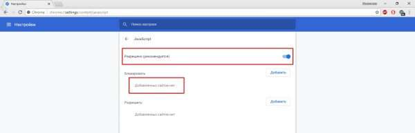 Как включить JavaScript в Opera и Google Chrome