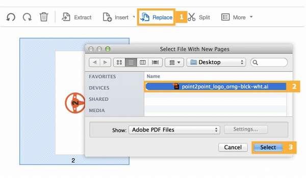 Замена содержимого Adobe Reader