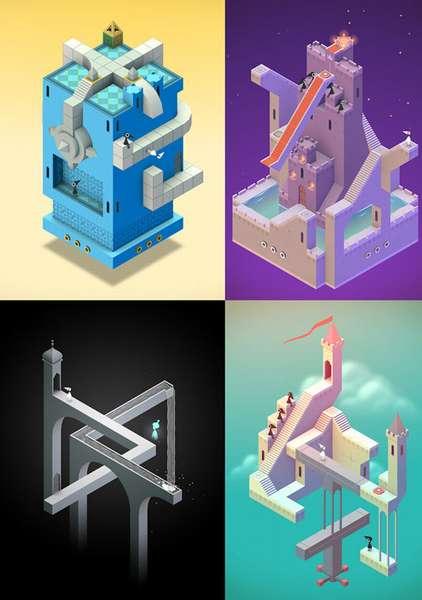 Самая лучшая логическая игра на Андроид - Monument Valley